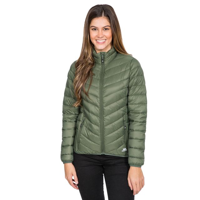Valentina Women's Down Jacket in Green
