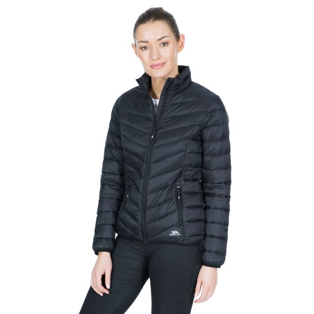Valentina Women's Down Jacket in Black