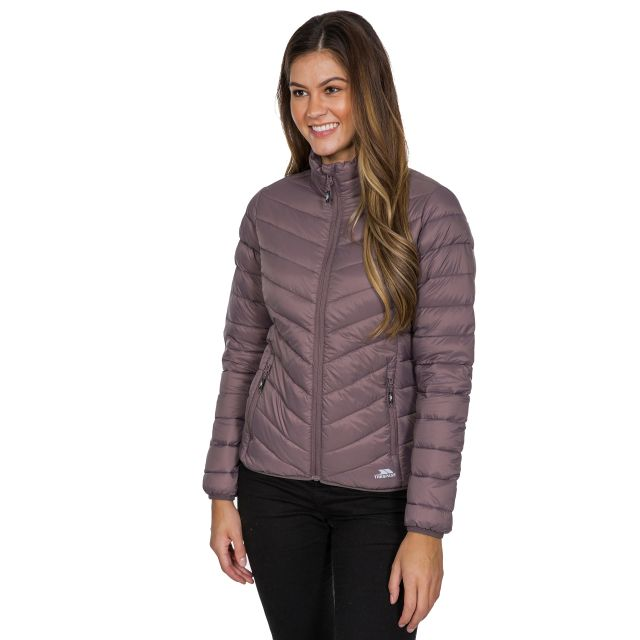Valentina Women's Down Jacket in Light Purple