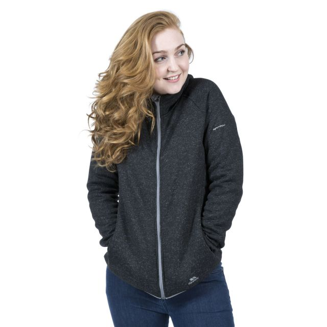 Valeo Women's Fleece Hoodie in Black