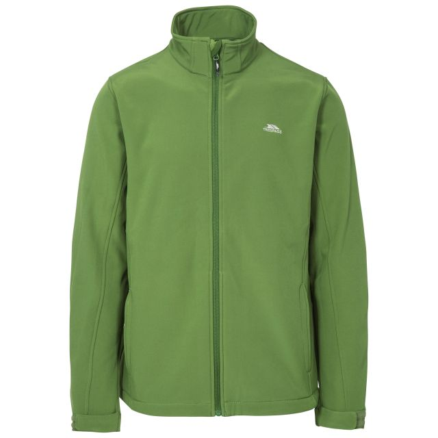 Vander Men's Softshell Jacket in Green