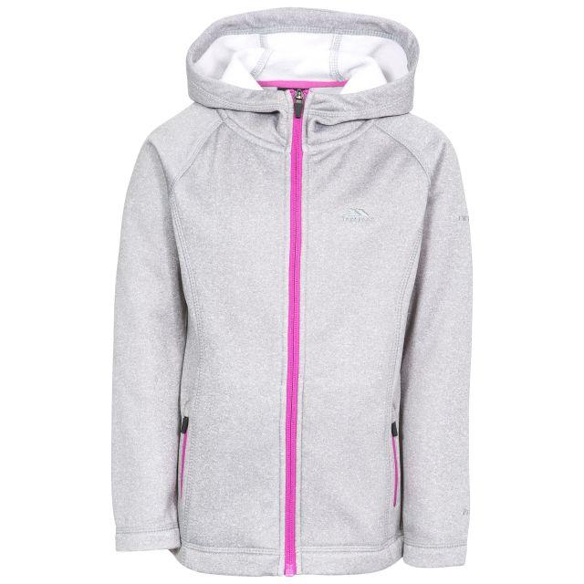 Vanlily Kids' Full Zip Fleece Hoodie in Grey