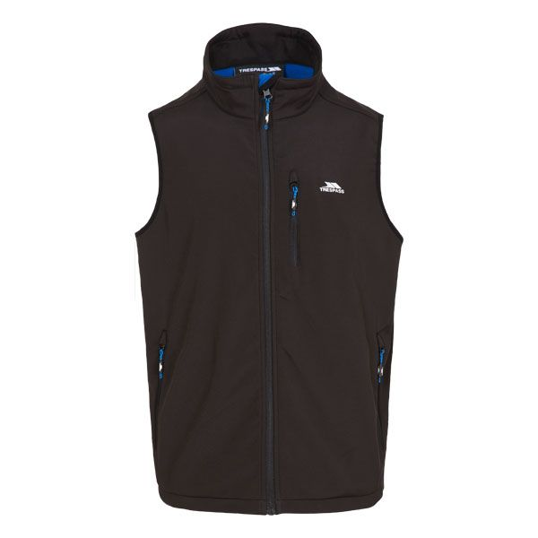 Vassus Men's Softshell Gilet in Black