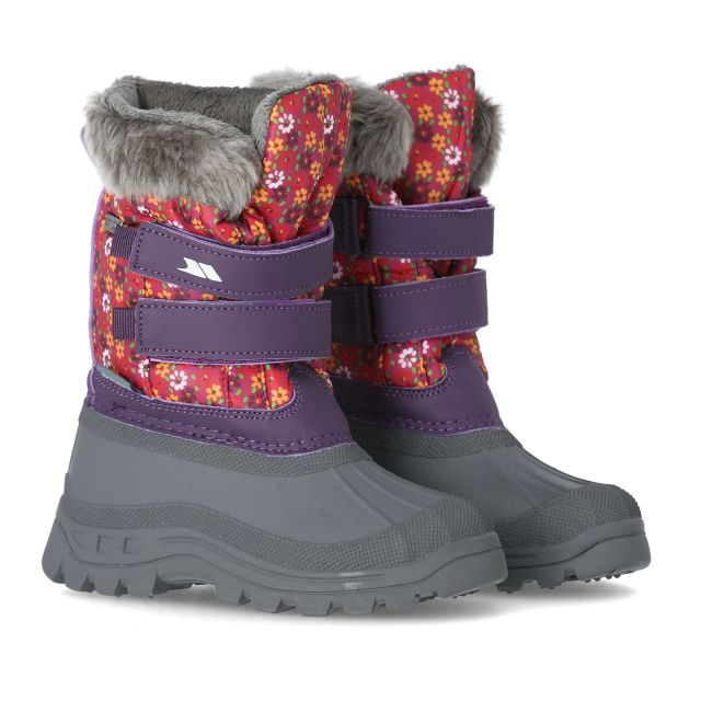 Vause Kids' Printed Snow Boots in Print