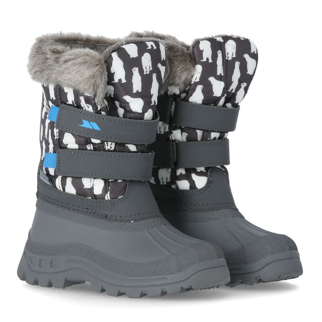 Vause Kids' Printed Snow Boots in Assorted