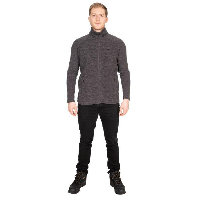 Veryan Men's Fleece Jacket in Grey
