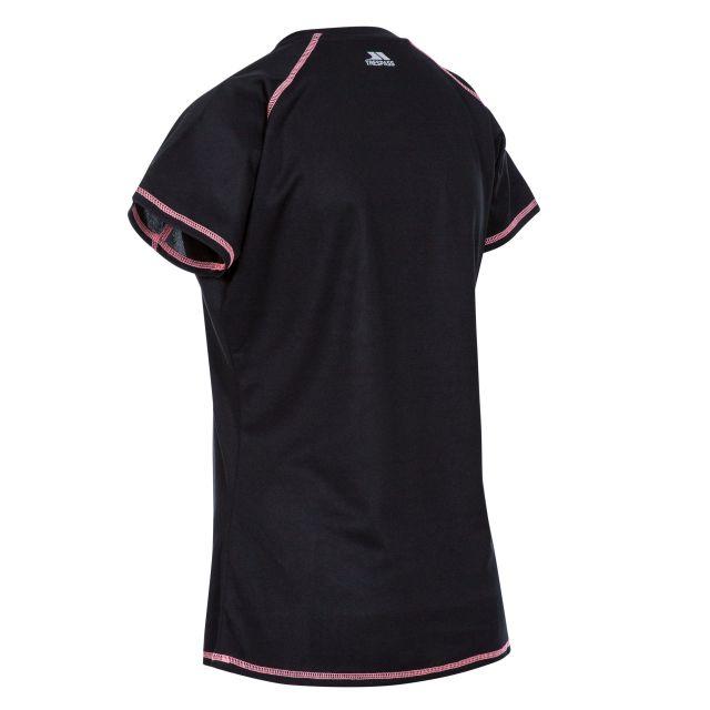 Viktoria Women's Active T-Shirt in Black