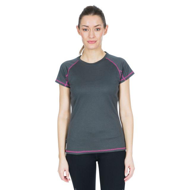 Viktoria Women's Active T-Shirt in Grey
