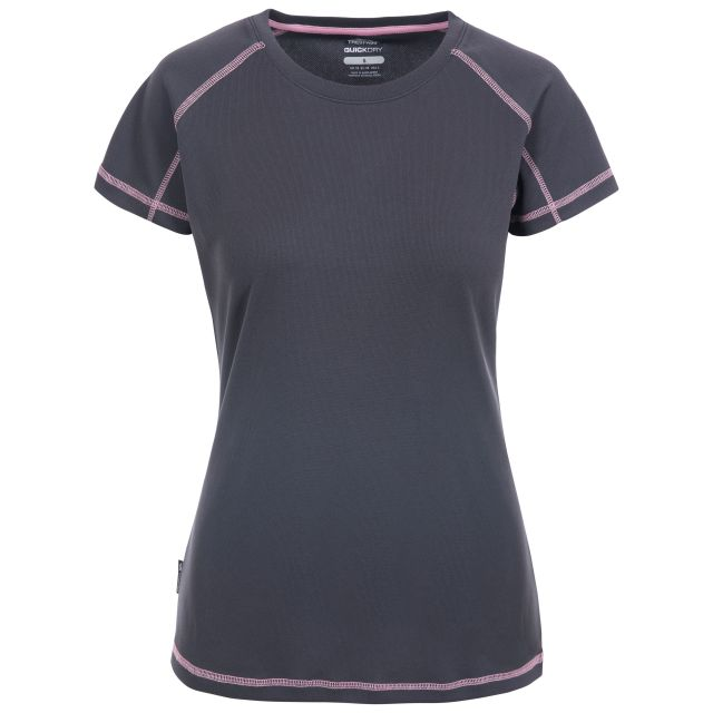 Viktoria Women's Active T-Shirt in Grey