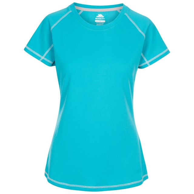 Trespass Women's Active T-Shirt Viktoria Blue