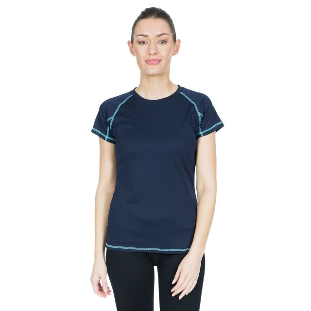 Viktoria Women's Active T-Shirt in Navy