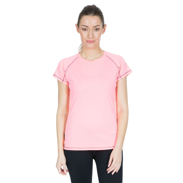 Viktoria Women's Active T-Shirt in Peach