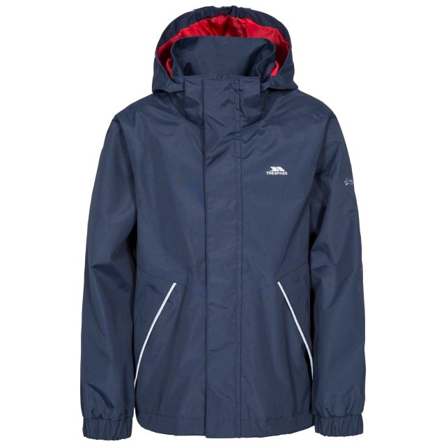 Vincenzo Kids' Waterproof Jacket in Navy