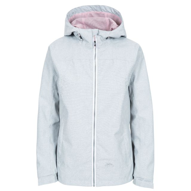 Virtual Women's Waterproof Jacket in Light Grey