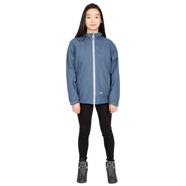Virtual Women's Waterproof Jacket in Navy