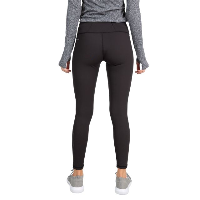 Vivien Women's Wicking Active Leggings in Black