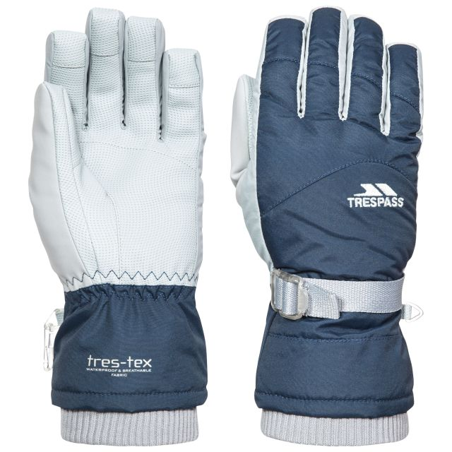Vizza II Adults' Ski Gloves in Navy