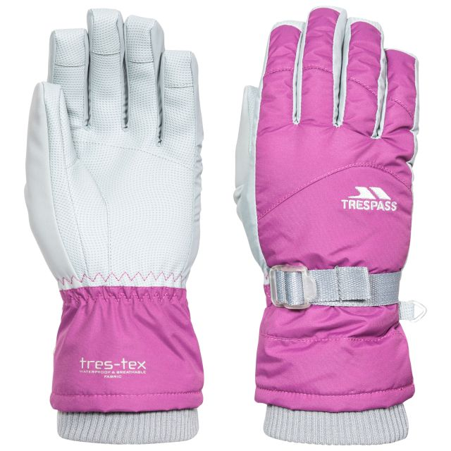 Vizza II Unisex Ski Gloves in Purple