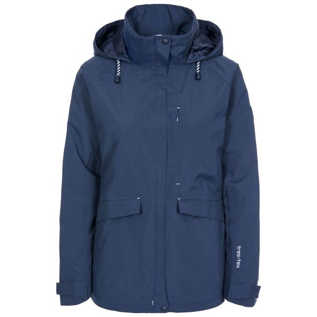 Voyage Women's Waterproof Jacket in Navy