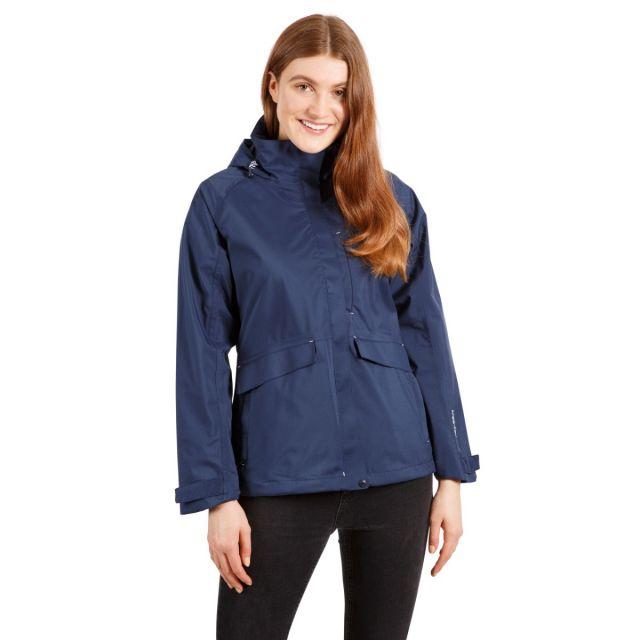 Voyage Women's Waterproof Jacket in Navy