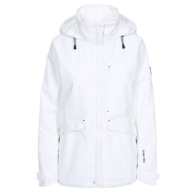 Voyage Women's Waterproof Jacket - WHT