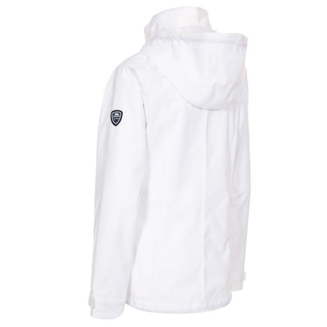 Voyage Women's Waterproof Jacket in White