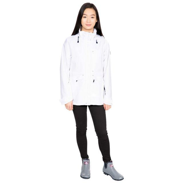 Voyage Women's Waterproof Jacket in White