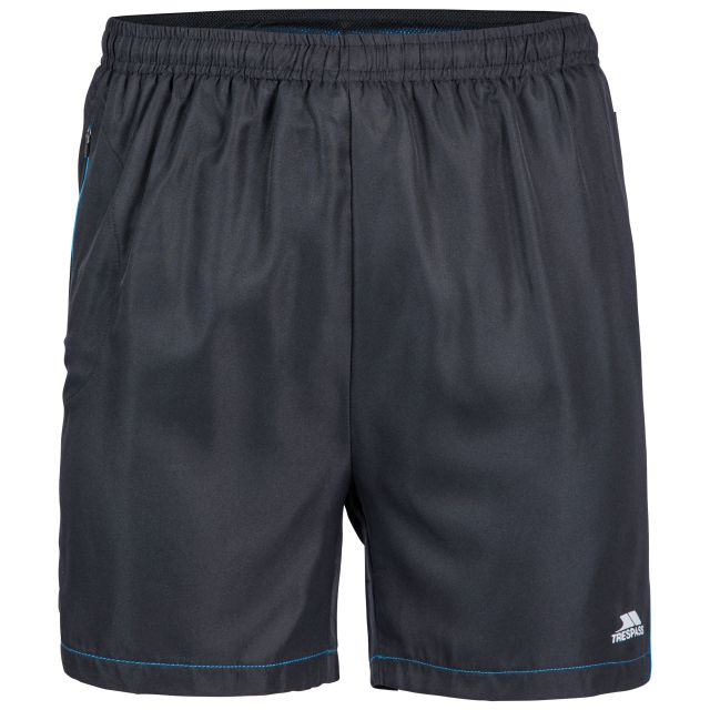 Walton Men's Active Shorts in Black