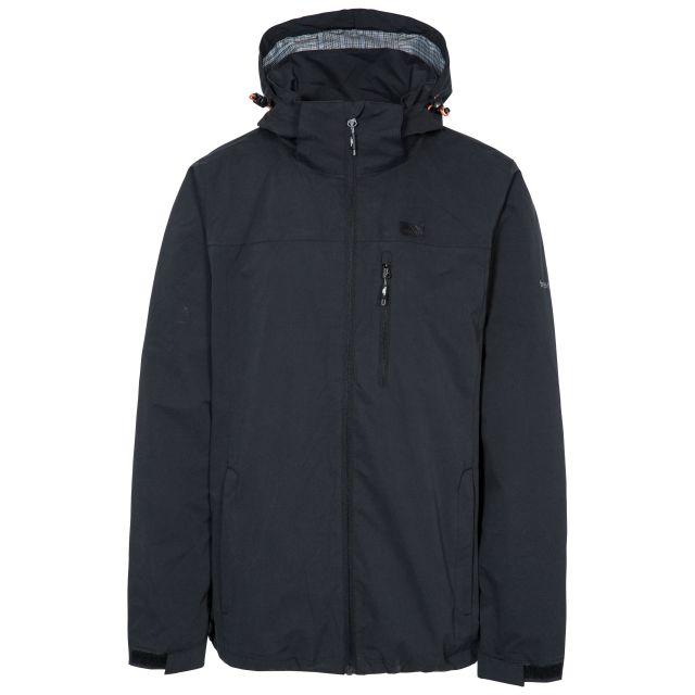 Weir Men's Waterproof Jacket in Black
