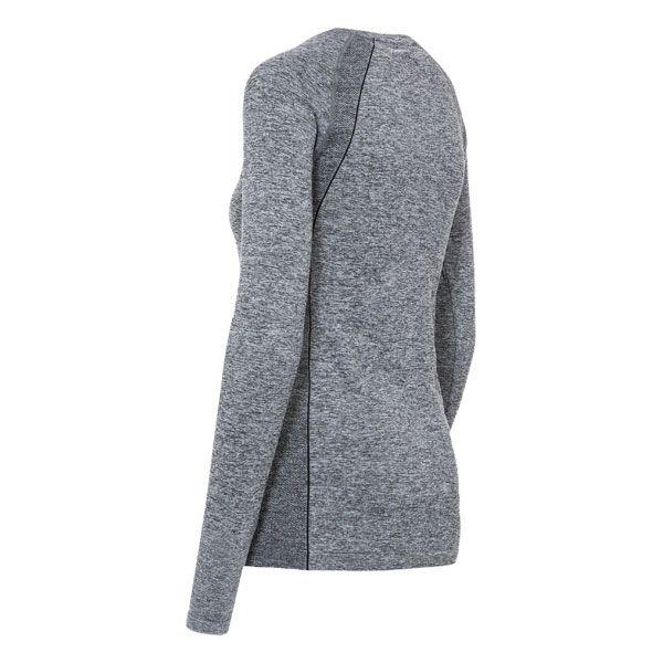 Welina Women's Long Sleeve Active T-Shirt in Black