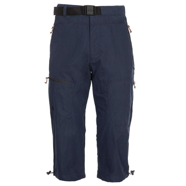 Wellbake Men's 3/4 Length Trousers in Navy