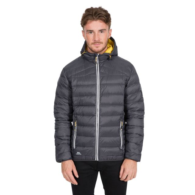 Whitman II Men's Down Packaway Jacket in Grey