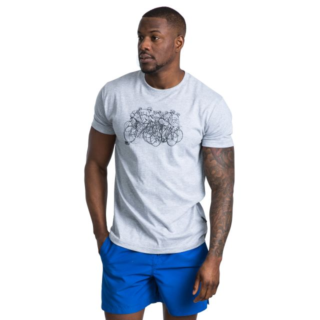 Wicky Men's Printed Casual T-Shirt - GRM