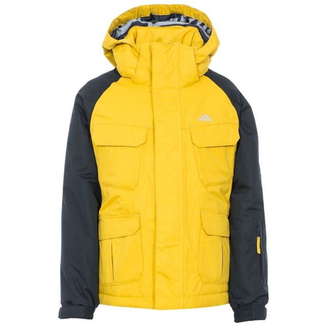 Wilmot Boys' Ski Jacket in Yellow