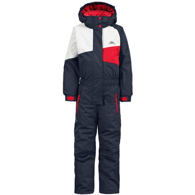 Wiper Kids' Ski Suit in Navy