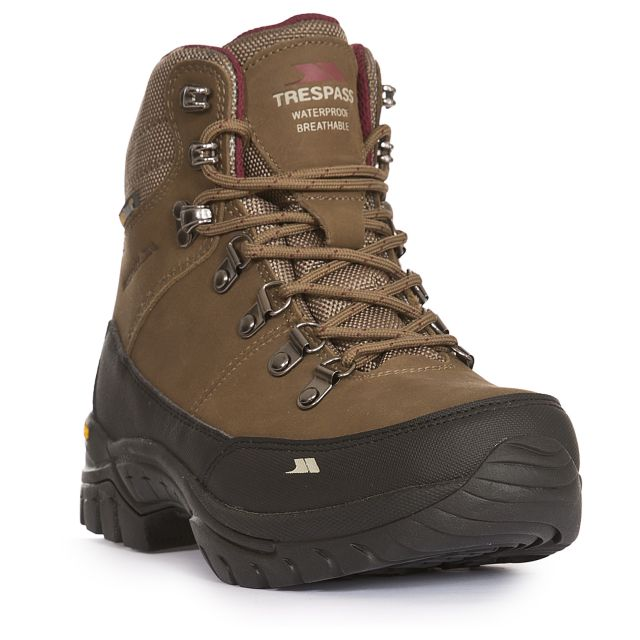 Kenter Women's Vibram Waterproof Walking Boots in Brown
