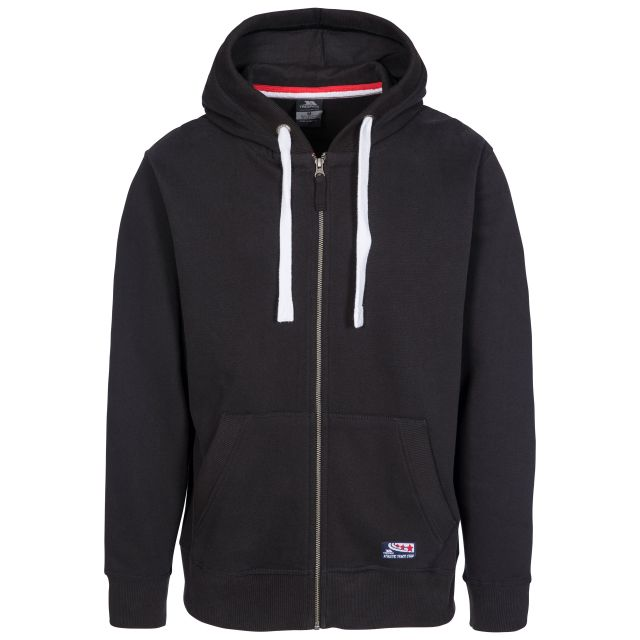 Wreath Men's Full Zip Hoodie - BLK