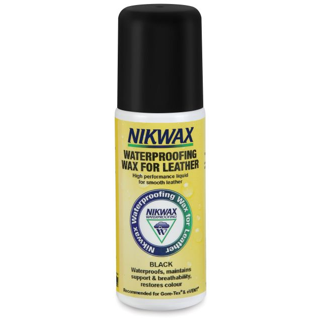 Nikwax Waterproofing Wax Cream For Leather 125ml in Black
