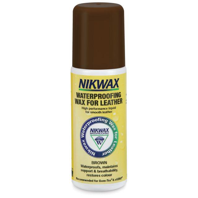 Nikwax Waterproofing Wax Cream For Leather 125ml in Brown
