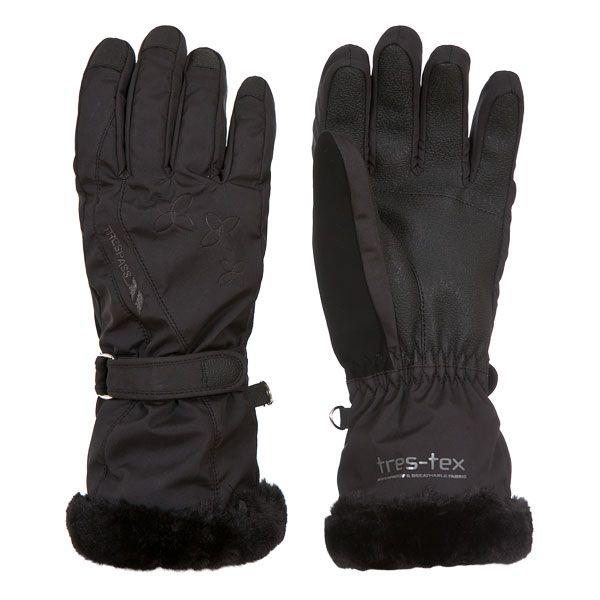 Yani Adults' Ski Gloves in Black