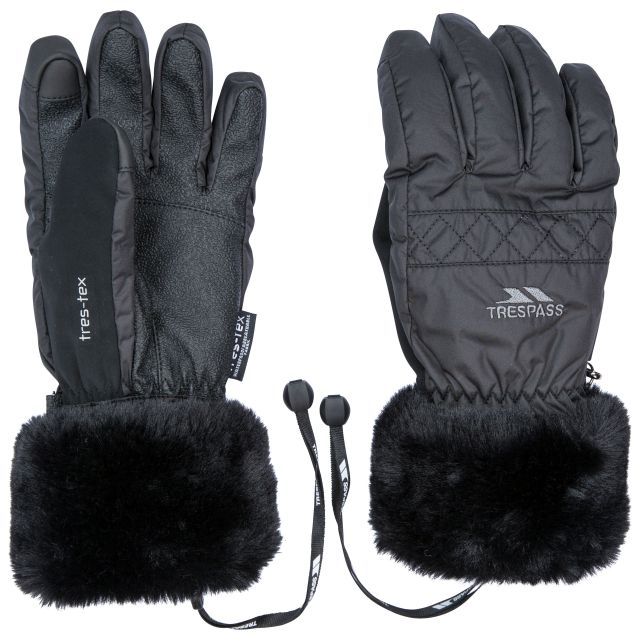Yanki Adult's Gloves in Black