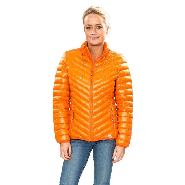 Yolanda Women's Down Packaway Jacket in Yellow
