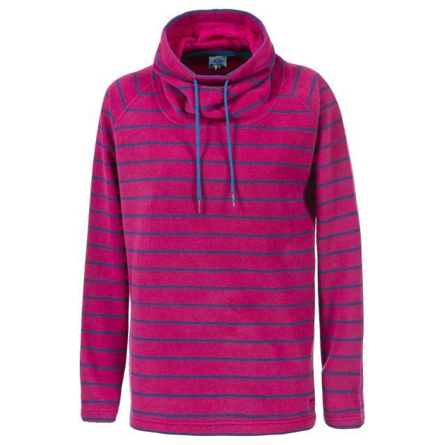 Yolo Women's Striped Fleece in Pink