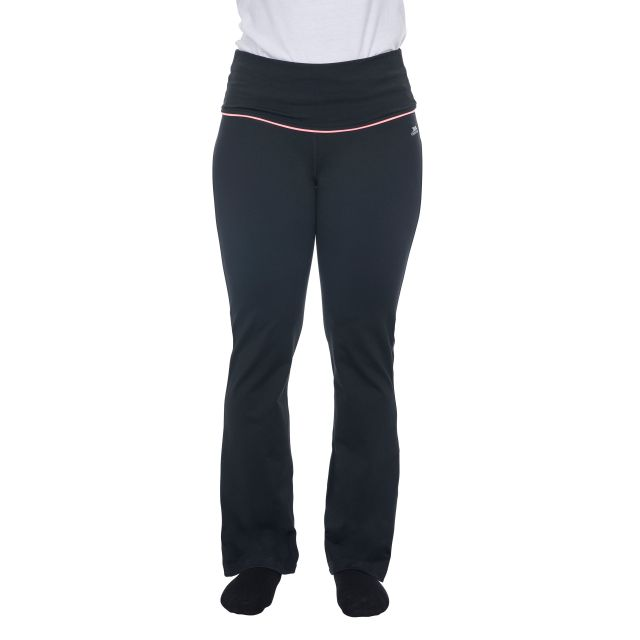 Zada Women's Quick Dry Yoga Pants in Black