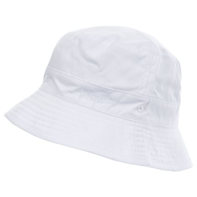 Zebedee Kidss White Sun Hat in White