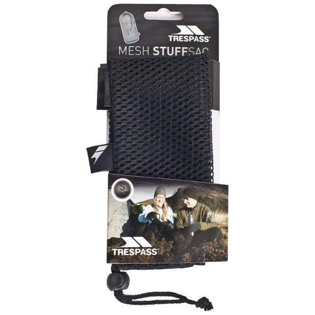 Mesh Stuffsack 20 x 46cm in Black