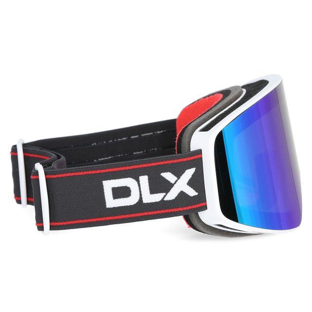 Zion Adults' DLX Ski Goggles in White