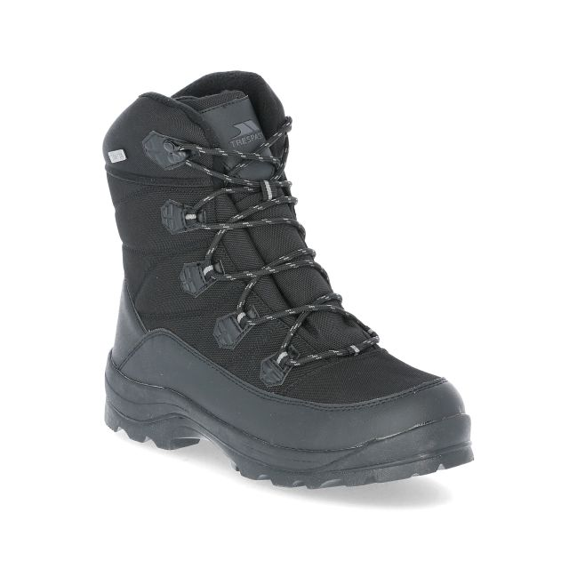Zotos Men's Snow Boots in Black