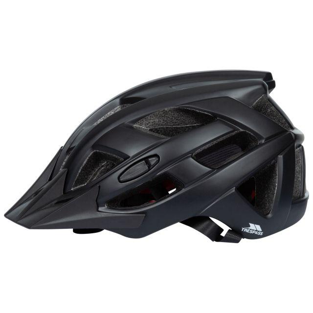 Trespass Adults Lightweight Bike Helmet in Black Zprokit