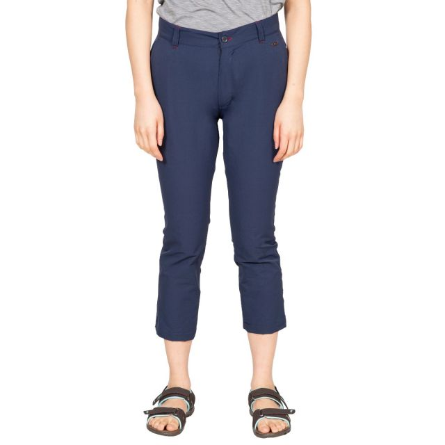 Zulu Women's 3/4 Length Trousers in Navy